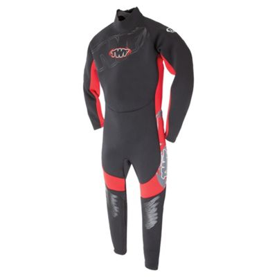 TWF Full Kids' Wetsuit age 12/13 Red
