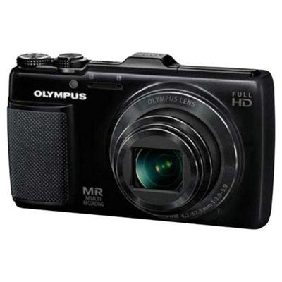 Olympus SH25 Black Digital Camera