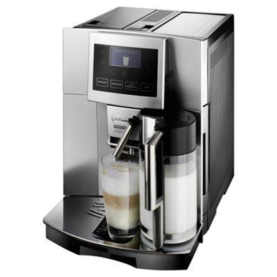 DeLonghi ESAM5600 Perfecta Graphic Bean to Cup Multi Beverage Coffee Machine - Silver