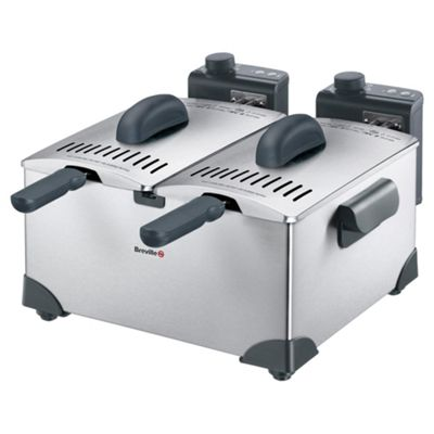Breville Double Stainless Steel Pro Fryer