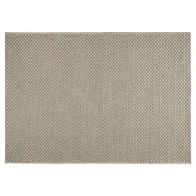 Tesco Rugs Textured Flatweave Rug Natural 120X170Cm