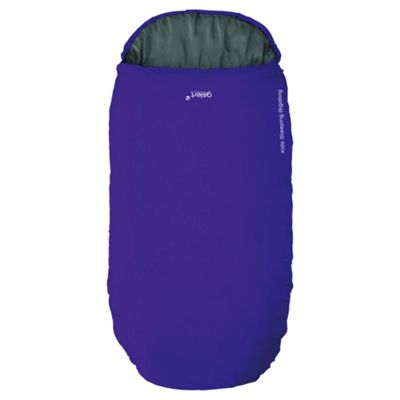 Gelert Bigabag Junior Sleeping Bag, Purple