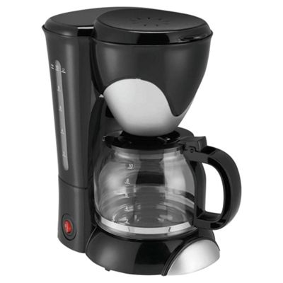 Tesco PCM12 1.25 Coffee Machine - Black