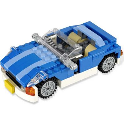 LEGO Creator Blue Roadster