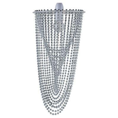 Tesco Lighting Charleston Silver Bead Pendant Shade