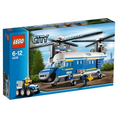 LEGO City Heavy-Lift Police Helicopter 4439