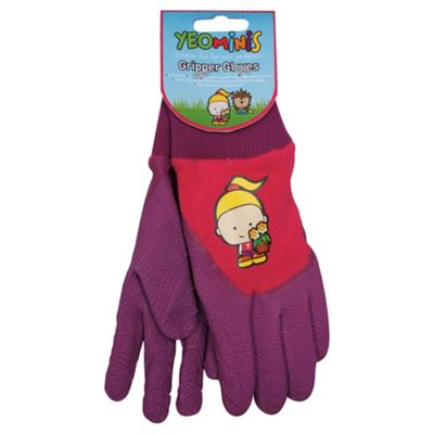 Yeominis Gripper Gloves, Pink