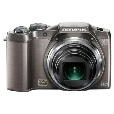 Olympus SZ-31 16MP 24x Optical Zoom 3.0 inch LCD screen Digital Compact Camera Silver