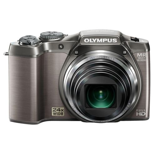 Olympus SZ-31 16MP 24x Optical Zoom 3.0 inch LCD screen Digital Compact Camera Silver