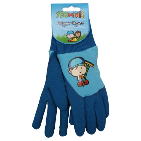 Yeominis Gripper Gloves, Blue