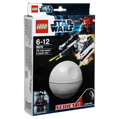 LEGO Star Wars Planets TIE Interceptor & Death Star 9676