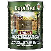 Cuprinol Ducksback, 5L, Forest Oak