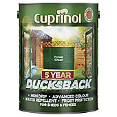 Cuprinol Ducksback, 5L, Forest Green