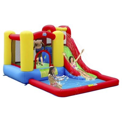 Jump & Splash Adventure Zone Bouncy Castle & Pool
