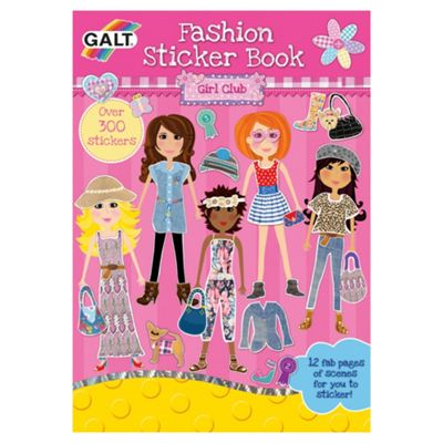 Club Fashion Sticker Book