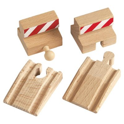 Brio Ramp & Stop Track Pack Wooden Toy