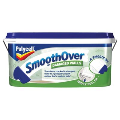 Polycell SmoothOver for Cracked and Damaged Walls