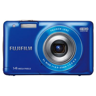 Fujifilm FinePix JX500 Digital Camera 2.7 LCD, Blue