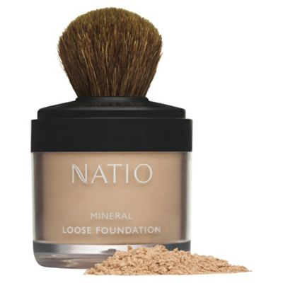 Natio Mineral Loose Foundation Desert Sand