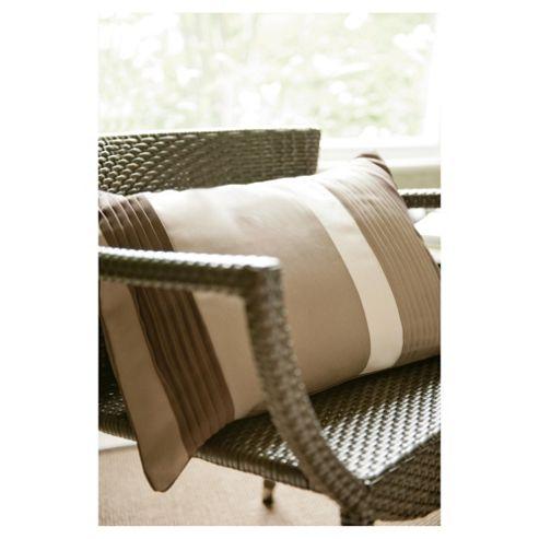 Catherine Lansfield Nova Cushion Natural