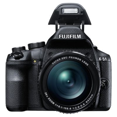 Fuji X-S1 Bridge Camera, 12MP,26X Optical Zoom, 3
