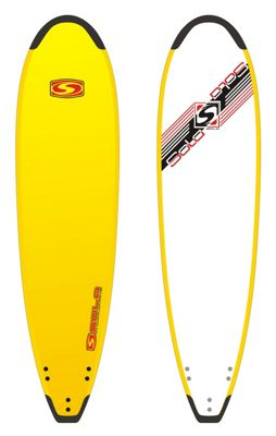 Sola 8ft Softboard with Tailguard Yellow