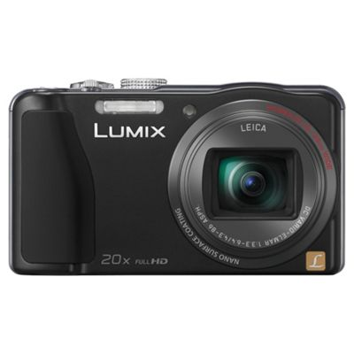 Panasonic TZ30 Digital Camera, Black, 14.1MP, 20x Optical Zoom, 3.0 inch LCD screen