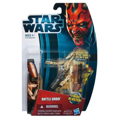 Star Wars Movie Legends Figure Battle Droid