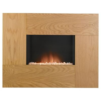 Adam Nexus electric fire oak