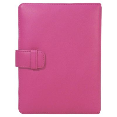 Tesco Finest Leather Folio Kindle Case - Pink