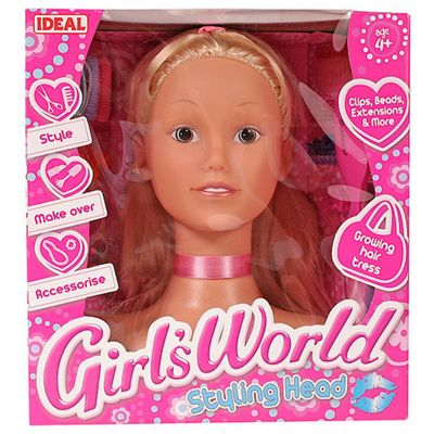 Toy Brokers Girls World Bead And Style Head