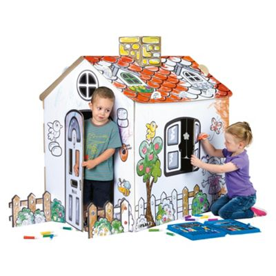 Famosa Paint Your House Playhouse