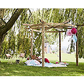 Chillington Pergola - Includes Postfix for fixing posts