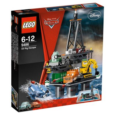 LEGO Disney Cars Oil Rig Escape 9486
