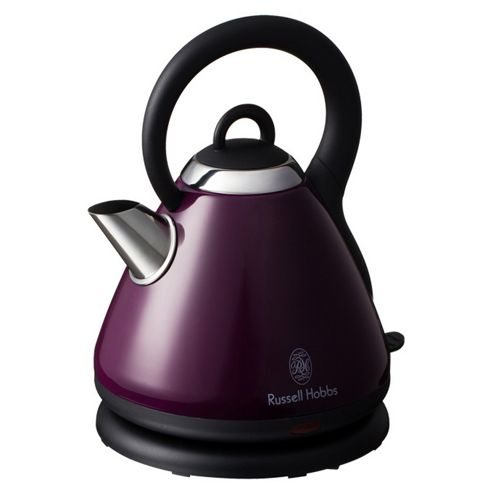 Russell Hobbs 18440 1.8L Heritage Traditional Kettle - Purple