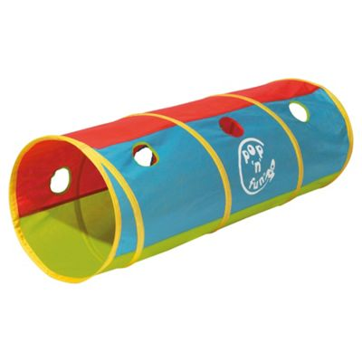 Worlds Apart Pop 'N' Fun Play Tunnel, 1.2m