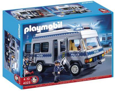 Playmobil Police Van