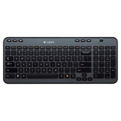 Logitech K360 Wireless Keyboard - Black