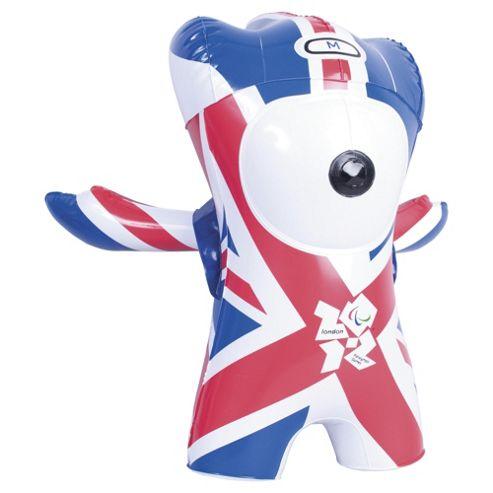 London 2012 Paralympics Team GB Inflatable Mascot Mandeville