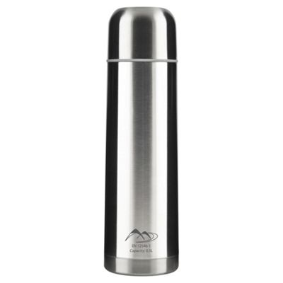 Tesco Stainless Steel Flask, 0.5L