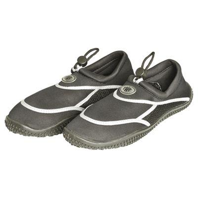 TWF Adult Wetshoes, Black Size 5