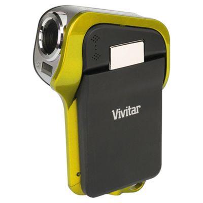 Vivitar DVR995WHD Waterproof Camcorder, Yellow