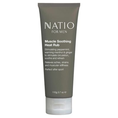 Natio For Men Muscle Soothing Heat Rub