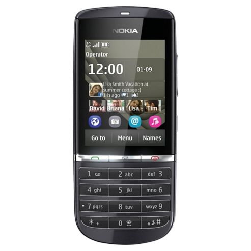 Tesco Mobile Nokia 300 Black
