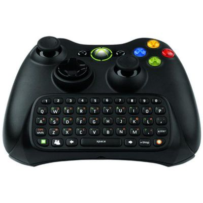 X360 CHAT PAD INCLUDING HEADSET BLACK