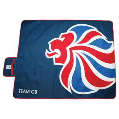 Highlander London 2012 Olympics Waterproof Picnic Rug, Lion Emblem
