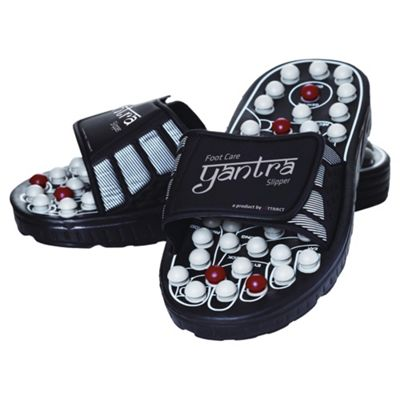 Yantra Slippers Black Extra Large