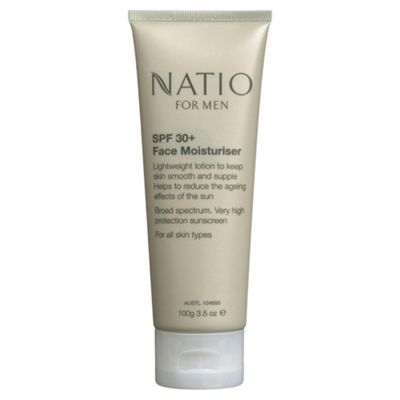 Natio For Men 30+ Face Moisturiser