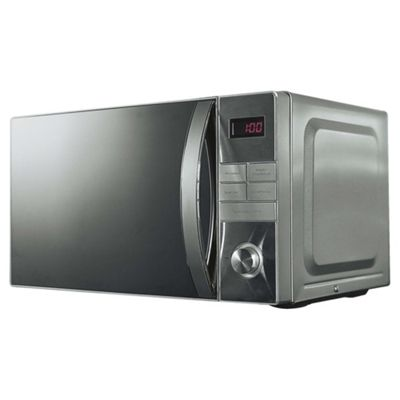 Tesco Plus Solo Microwave MP2014 20L, Stainless Steel, 800W