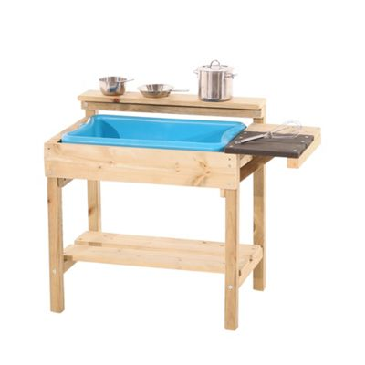 TP Toys Muddy Cook Wooden Mud Kitchen Outdoor Play
